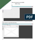 Grafica de Funciones de Una Variable GUI MATLAB