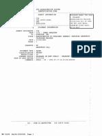 JFK Assassination System Identification Form
