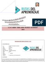 Programación Curricular Anual 2014