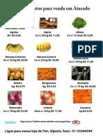 Produtos a venda Atacado - Hortifruti - Supermercado e Atacado Leão