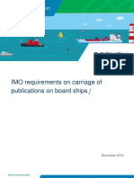 IMO Requirements on Carriage of Publications on Board Ships