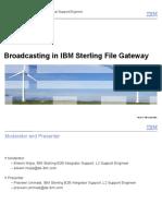 BroadCasting in SFG2
