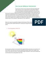 Teori Warna Dalam Berbagai Pandangan
