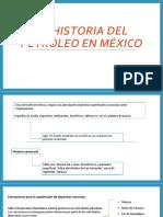 La Historia Del Petróleo en México