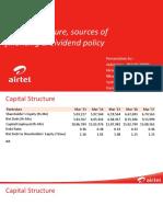 Corporate Finance Bharati Airtel