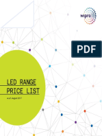 Wipro Luminaries Price List 2017 Complete