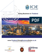 Thailand Guide for Business