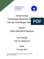 Kertas Konsep Pertandingan Mendirikan Khamah-2017