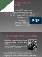 Strategi Presentasi Magister Tsipil