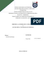 Trabajo de Socio Critica Derechos a La Informacion y a La Comucacion Ley de Ciencia y Tecnologia (2)