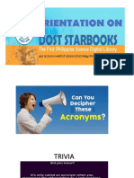 Starbooks Presentation