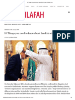 10 Things You Need to Know About Saudi Arabia _ Khilafah