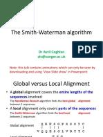 smithwaterman-130216133804-phpapp02
