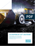 Technical Specification Scooptram ST7 Battery