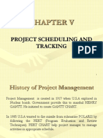 CHAPTER v [Project Scheduling]