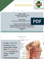Anatomi & Fisiologi Laring