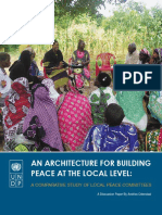 An Architecture for Building Peace at the Local Level