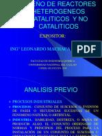 Diseño de Reactores Heterogeneos Cataliticos y No Catalitico