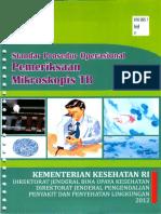 2012_Standar Prosedur Operasional Pemeriksaan Mikroskopis TB
