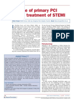 The Use of Primary PCI for the Treatment of STEMI
