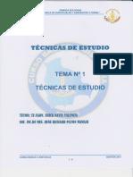 Tecnicas de Estudios Sof. Paton