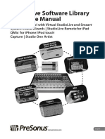 StudioLive Software Library Manual - English