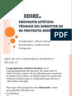 Propuesta Estético- Técnica Del Director. Clase 3