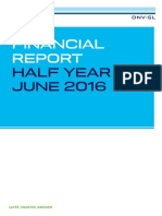 2016 Half-year Report DNV GL