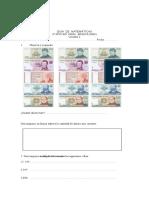 Guía de Dinero y numeración 3°
