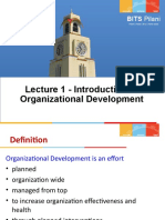 1 - Introduction to OD