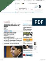 Salário inicial de R$ 5.000 é pouco para professor universitário, diz ministro - 23:08:2017 - Educação - Folha de S.Paulo.pdf