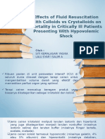 Effects of Fluid Resuscitation With Colloids vs Crystalloids