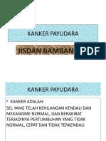 Kanker Payudara. Bintaro Baniumar Tanggal 1 April
