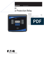 EGR-4000 Generator Protection Relay