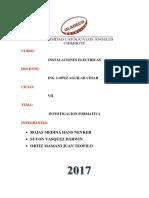 Monografia de Instalaciones Electricas