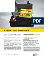 Trubend Angle Measurement System