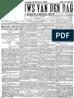 Het Nieuws Van Den Dag 13 October 1924