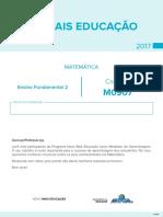 Caderno de Teste de Matemática – Ensino Fundamental 2 - m0907