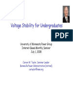 Voltage Stability PPT by C.W.taylor