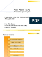 Wahler Economic Value Added Presentation May2001