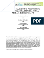 No mkt e promoção -  PLANO DE MARKETING. PROPOSTA DE IMPLANTAÇÃO EMPRESA.pdf