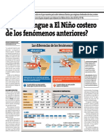Diferencias Entre El Niño Global y Niño Costero