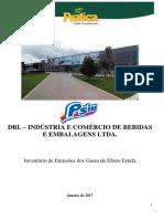 Inventário de Gases de Efeito Estufa - Janeiro 2017 Int