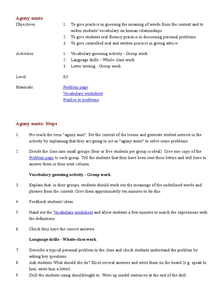 colorful agony aunt template collection example resume ideas