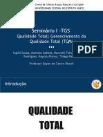 TGS - Qualidade