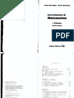 Paolo Marcellini, Carlo Sbordone - Esercitazioni Di Matematica Volume 1 Parte Prima