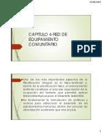 Capitulo 4-Red de Equipamiento Comunitario
