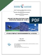 PGES Et Consultation Publique