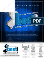 APP Best of the Best 2017: Monmouth County