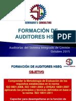 Formacion de Auditores HSEQ 2016 Version 02